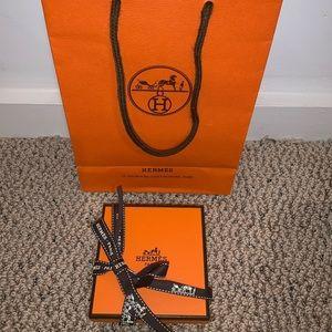 Hermes Bag and Box